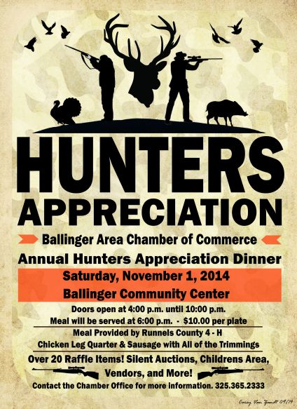 Hunters Appreciation