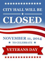 City Hall - Veterans Day