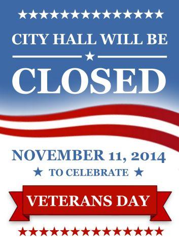 City Hall - Veterans Day
