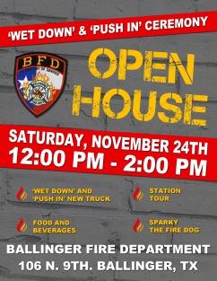 Fire Dept - Open House