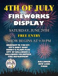 Flyer - Fireworks