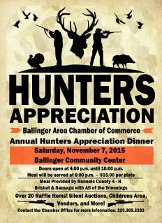Hunters Appreciation 2015