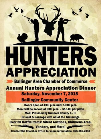 Hunters Appreciation 2015