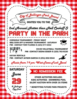 Party in the Park - BBQ