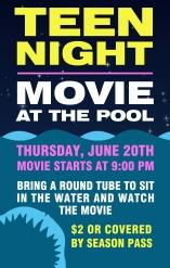 Teen Night - Flyer - No Poster