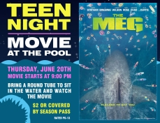 Teen Night - Wide Flyer - For Print