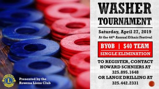 Washer Tournament